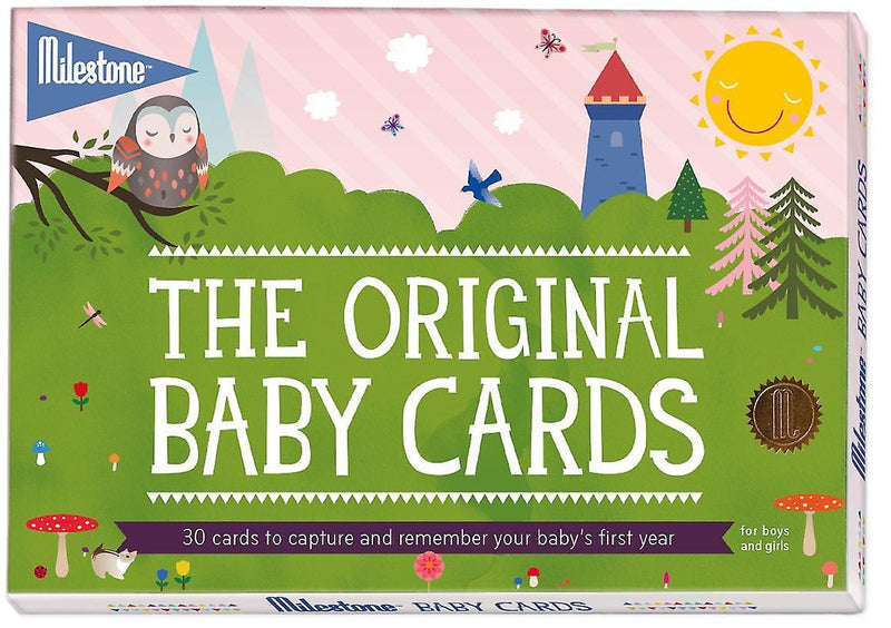 ORIGINAL MILESTONE BABY CARDS- Lighthouse/Owl