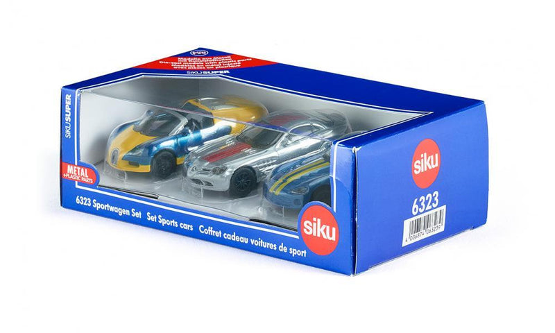 SIKU Sports Cars Set