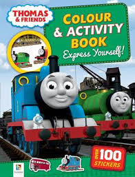 Thomas Colour and Activity Book Assorted Titles
