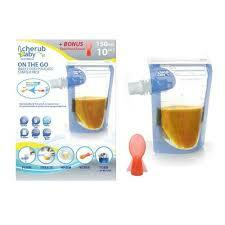 Cherub Baby | On The Go Baby Food Pouches 150ml