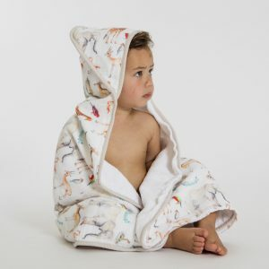 Hooded baby towel - Animal All4ella