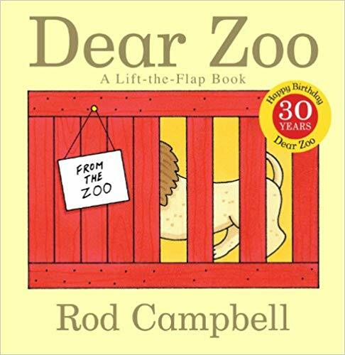 Dear Zoo paperback book