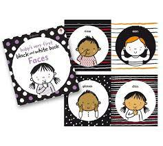 Baby's Very 1st Black and white Faces book - Usborne