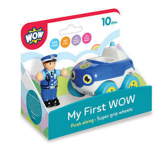 My First WOW - Police Car Bobby