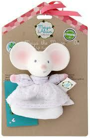 Meiya the Mouse - Soft Ring Rattle