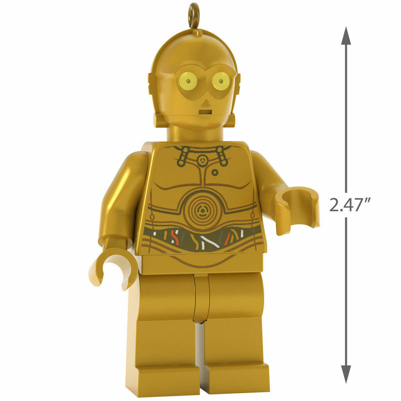 Hallmark Keepsake 2019 LEGO Star Wars C-3PO Ornament