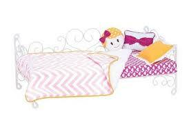 Our Generation Yellow Hearts Scroll Bed