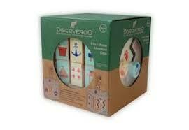 Discoveroo | Ocean Adventure Activity Cube