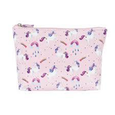 Unicorn Rainbows Cosmetic Bag