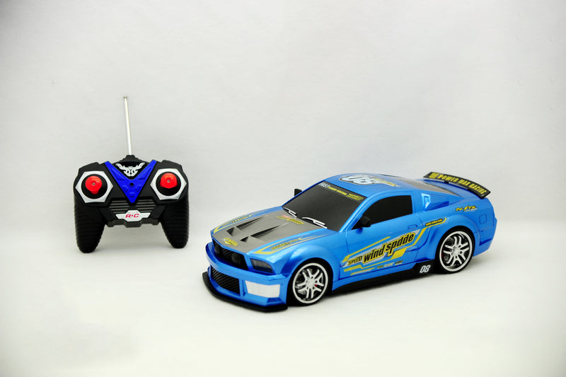 Touring Car Mustang Blue - Remote control Car