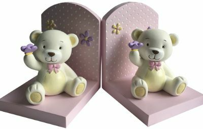 Baby Bear Pink Bookends