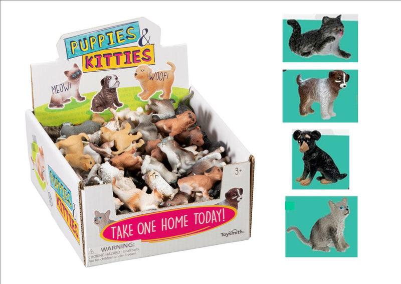 Puppies And Kittens figures