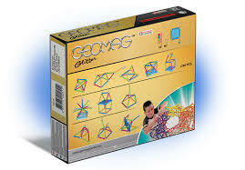 Geomag | Glitter 30 Piece Magnet Building Learning Set