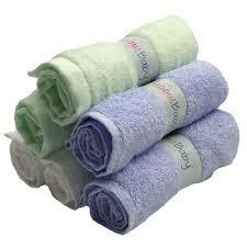 Precious Baby | Bamboo Washcloths 6 pack mint