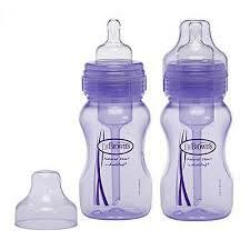 Dr Brown's | W/N Options 270ml  Twin Pack - Purple
