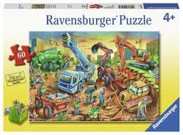 RAVENSBURGER | Construction Crew puzzle 60pc