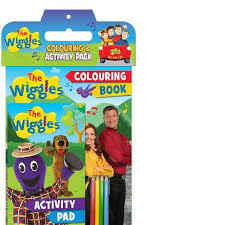 The Wiggles Colouring Activity Pack