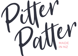 Pitter Patter | Stripes - Mustard/tan/black/white