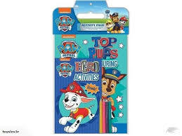 Paw Patrol |Activity Pack Blue