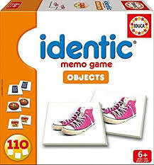 Educa | Identic Memory Game -Objects