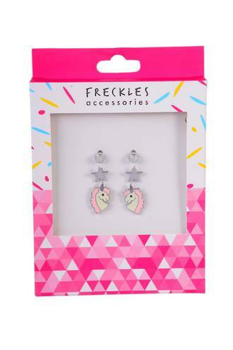 Boxed Unicorn Stud Earrings - Freckles