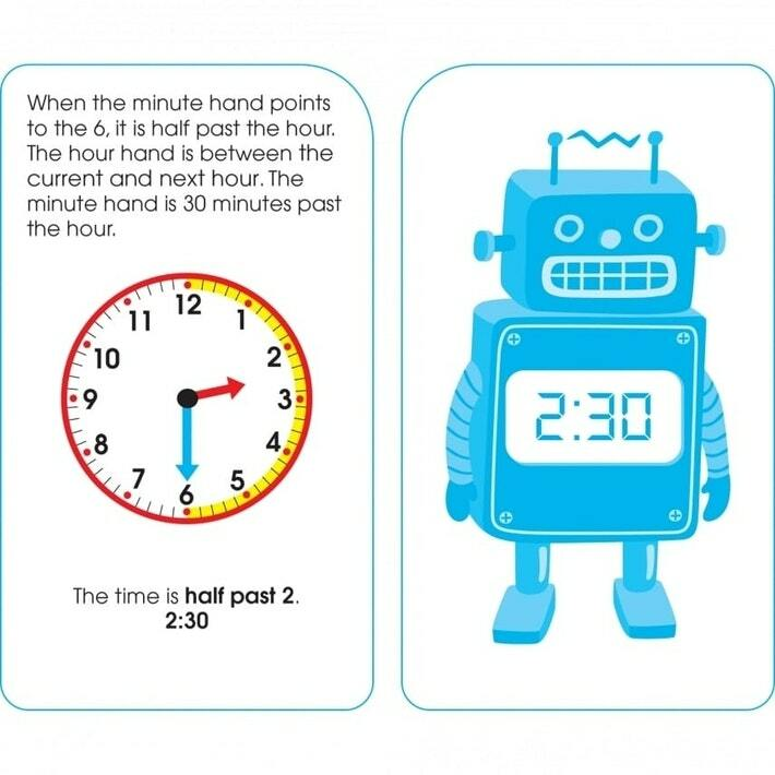 School Zone | Time & Money Flash Cards