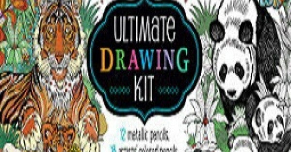 Art Maker The Ultimate Colouring Experience kit: Tiger - Hinkler
