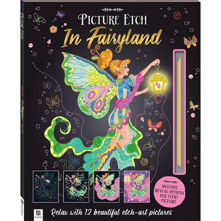 Picture Etch: In Fairyland | Hinkler