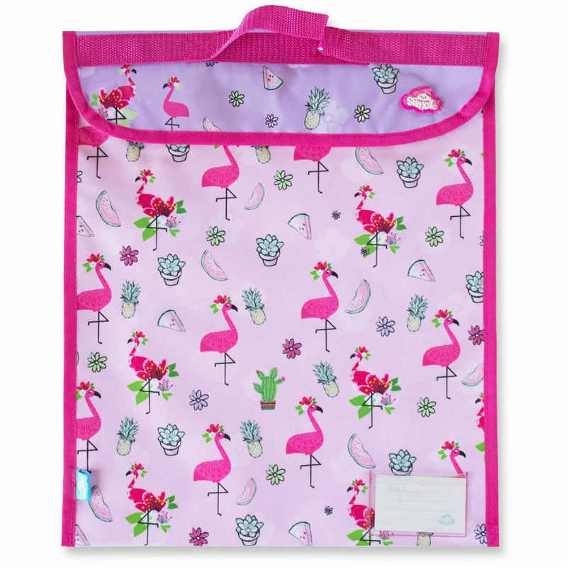 Spencil | Fancy Flamingo Homework bag