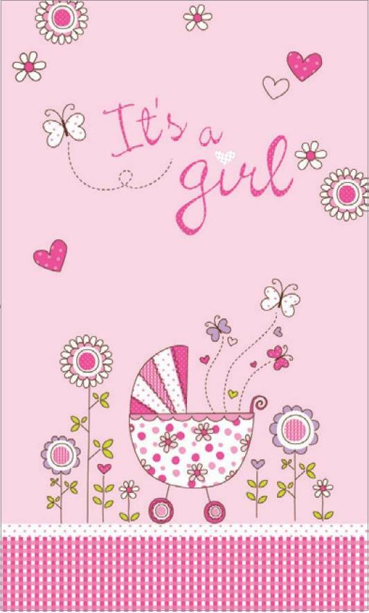 Card Caption | It's A Girl