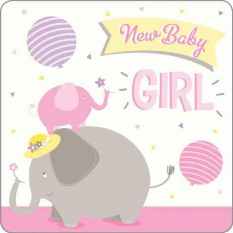 Card Caption: New Baby Girl