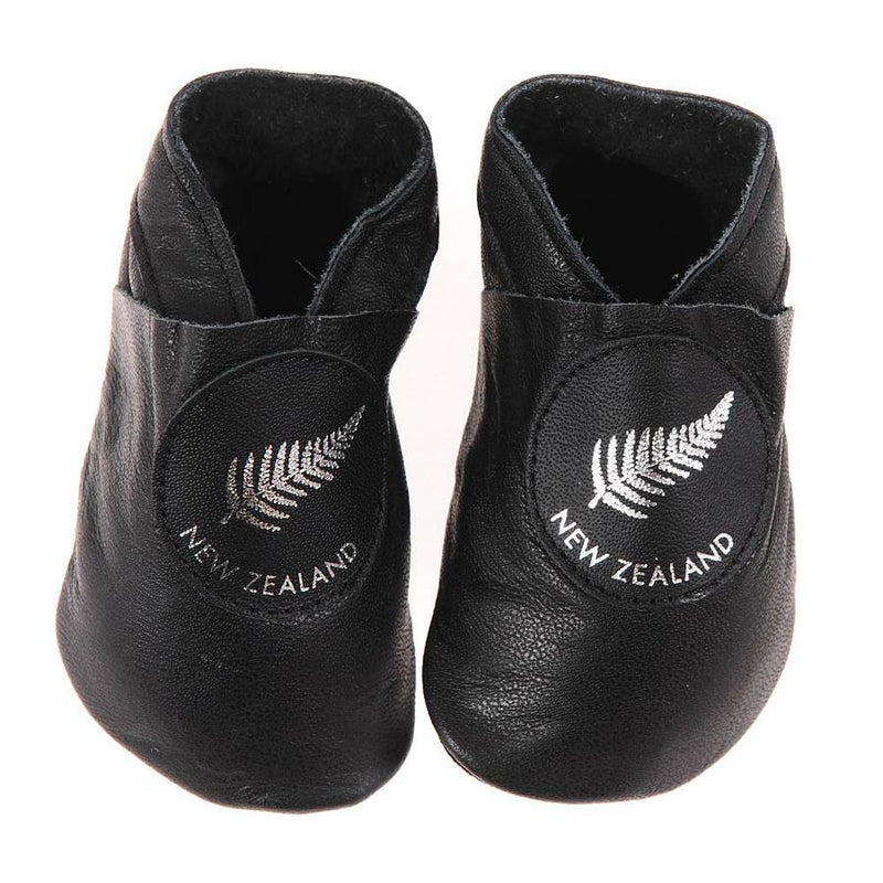 Pitter Patter |Silver Fern - Black