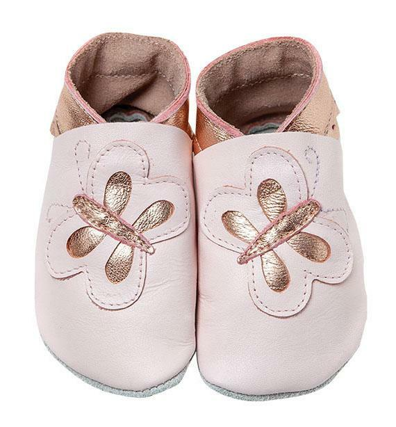 Pitter Patter | Butterfly - Baby Pink/Rose Gold