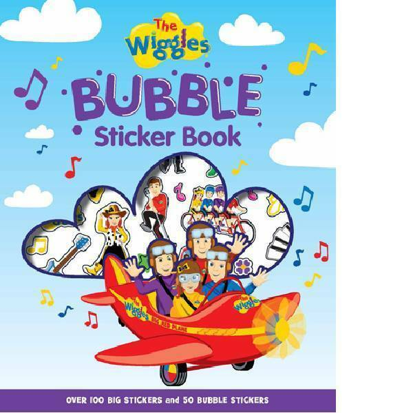 The Wiggles | Bubble Sticker Book