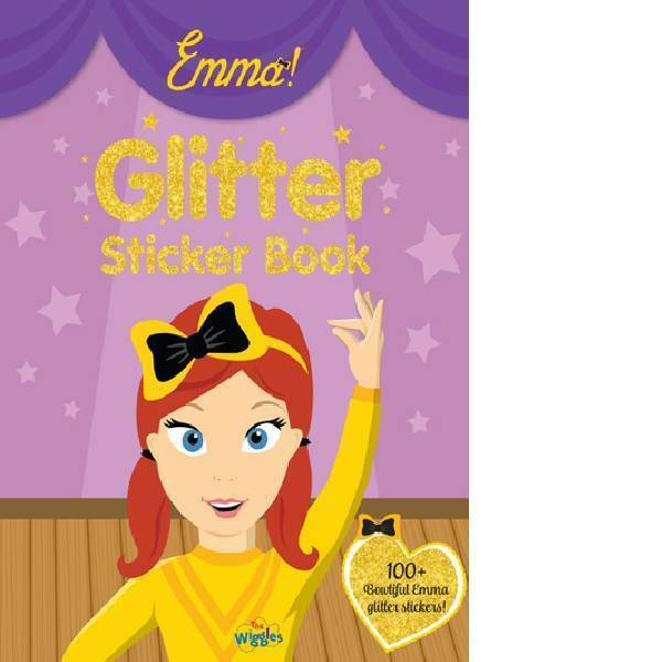 The Wiggles | Emma The Glitter Sticker Book
