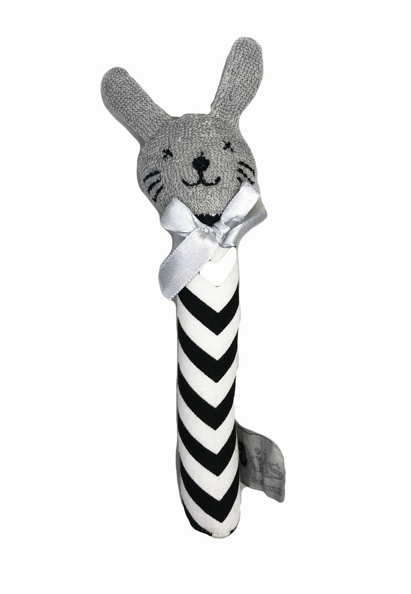 es Kids | Bunny Rattle - Sml | Assorted Colours
