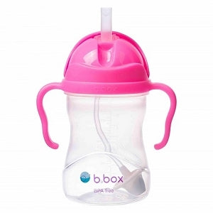 B.Box Sippy Cup V2 Neon Pink Pomegranate