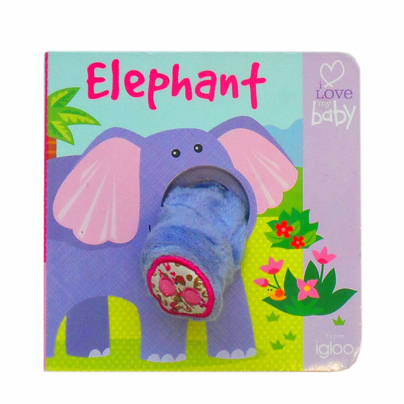 Finger Puppet Book | Elephant