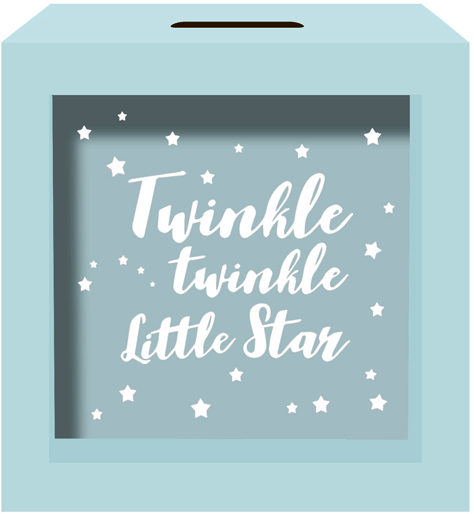 MoneyBox | Twinkle Twinkle Little Star - Blue