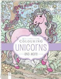 Kaleidoscope Colouring Unicorns