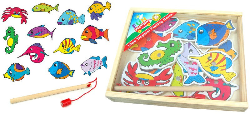 Fun Factory - Magnetic Fishing Game Tropical