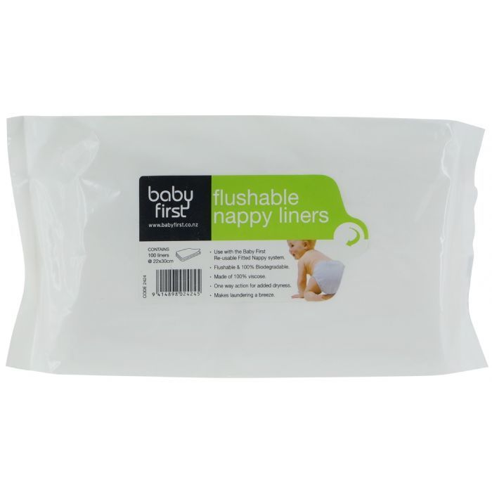 Baby First | Deluxe Flushable Liners