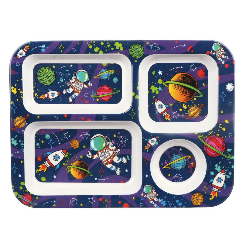 Spaceman Melamine Tray