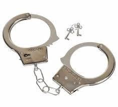 KIDS TOY METAL HANDCUFFS