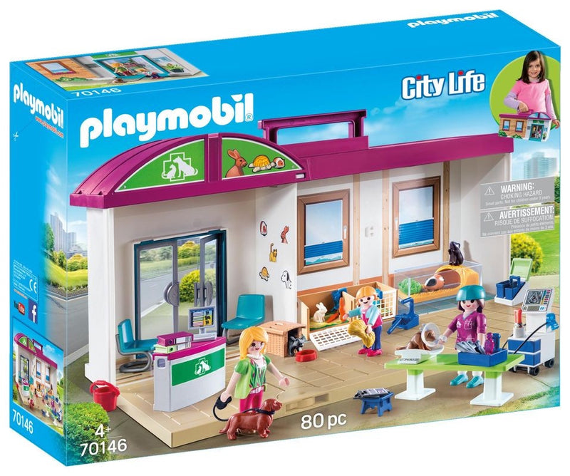 Playmobil - Take Along Vet Clinic - 70146