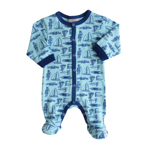 Coccoli | Sailboat Onesie RRP $54.99