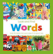Look and find Words or colours hardbook