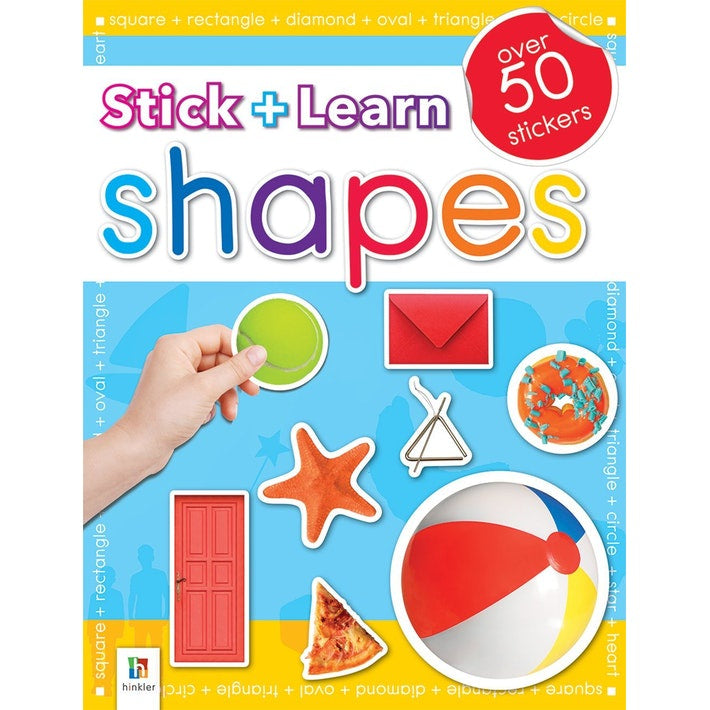 Stick & Learn: Shapes