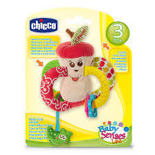 Chicco | Baby Senses Tactile Rattle Apple