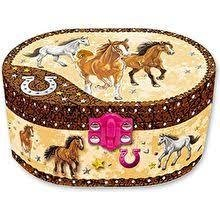 Horse Musical Jewellry Box